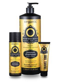 Organic Moisture shampoo, for dry damaged hair