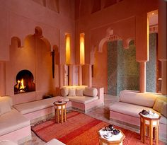 Spent my evening looking at pictures of Morocco with a friend. Definitely want to stay at Aman Resorts.