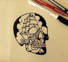 Image inside the skull