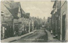 Newent High Street.