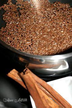 Gel de lin à la cannelle, pour hydrater les cheveux secs ou frisée, bouclés
