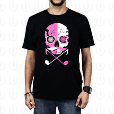 Camiseta 100% Algodão fio 30 penteado na cor liláscomestampa silk.O design da estampa é inspirado nas tradicionais caveiras mexicanas, com um toque de modernidade.