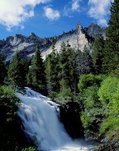 Trapper Creek Falls Bitterroot Valley Montana