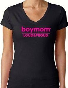 Image of Boymom Loud and Proud Tee