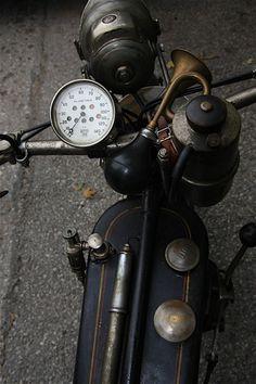 Old School  #motorcycle #motorbike