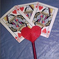 Queen of Hearts Wand