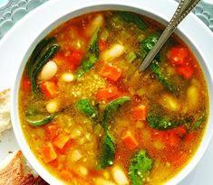 Thai lime-vegetable soup - Chatelaine.com