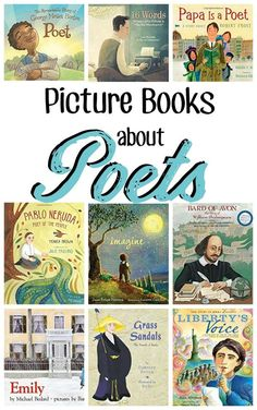 Get your kids inspired to write poetry by reading these Living Picture books about poets! Poetry is fun to read and kids enjoy the rhyme and rhythm. Give these suggestions a try. Nonfiction Books For Kids, Poetry Books For Kids, Kid Books, Kids Inspire, Learn To Read, Read Aloud, Book Lists, Picture Books, Childrens Books