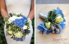 Znalezione obrazy dla zapytania granatowe kwiaty ślub