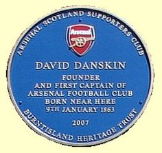 Blue plaque for David Danskin