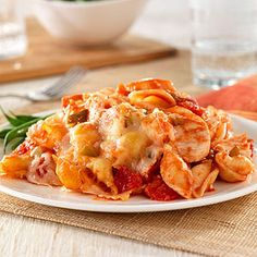 Cheesy Chicken and Pasta Casserole
