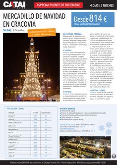 Pte diciembre: Mercadillo de Navidad en CRACOVIA, salidas indiv (avión+hotel+excurs), 4d/3n dsd 814€ - http://zocotours.com/pte-diciembre-mercadillo-de-navidad-en-cracovia-salidas-indiv-avionhotelexcurs-4d3n-dsd-814e-2/