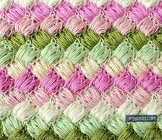 MyPicot | Crochet Box Puff Stitch | Brand New as of Tuesday, July 14th! | Free crochet patterns