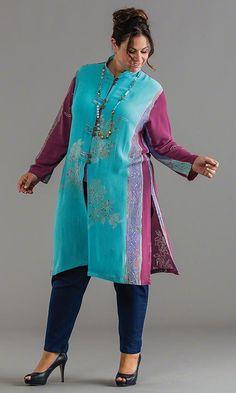 Bria Duster / MiB Plus Size Fashion for Women / Spring Fashion http://www.makingitbig.com/product/5166