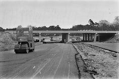 AANLEG-A1-HILVERSUM 1964