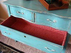 Cool serpentine dresser