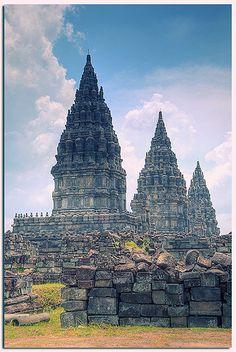 Prambanan Temple, Central Java Indonesia