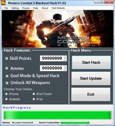 Modern Combat 5 Hack Tool Download Free | Discover Cheats