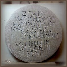 letters in steen Kristoffel Boudens