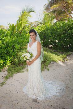Photography: Melissa Fuller - www.melissafullerphotography.com  Read More: http://www.stylemepretty.com/destination-weddings/2014/07/18/casual-tulum-beach-wedding/