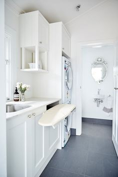 Provincial Kitchens is a bespoke kitchen design company that is commited to building exquisite kitchens, bathrooms and interiors for your home. Laundry Decor, Laundry Storage, Laundry Room Organization, Laundry Room Design, Laundry In Bathroom, Laundry Closet, Laundry Organizer, Laundry Chute, Budget Bathroom