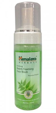 Himalaya Purifying Neem Foaming Face Wash - Fights skin impurities