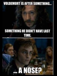 A joke only Harry Potter fans will get