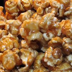 Easy Caramel Popcorn ******BEWARE!!!!!! This recipe IS easy and it is really good!!! In fact so easy and good you could make it really often!