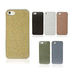 EUR € 3.30 - chatoyant cas de retour en poudre pour iphone 5/5s (couleurs assorties), livraison gratuite pour tout gadget!