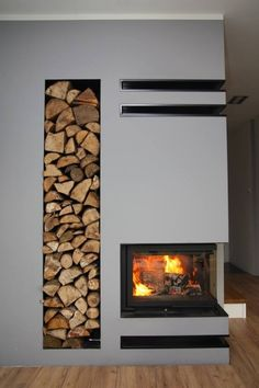 Tv Above Fireplace, Home Fireplace, Living Room With Fireplace, Fireplace Design, Fireplaces, Interior Exterior, Home Interior Design, Living Room Interior, Living Room Decor