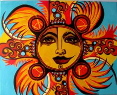 """""""Harley Sun""""  Series:  Here Comes the Suns, copyright gml"""