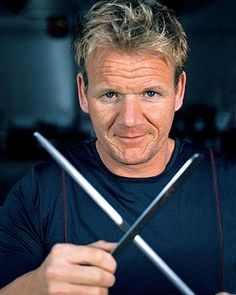 Gordon Ramsey:this man has helped me take the first baby steps towards western cooking..and in such ease..!love his passion..ignoring the cuss words..:P..He made me think cooking is art and its all about practise:)cuz PRACTISE MAKES PERFECT:)