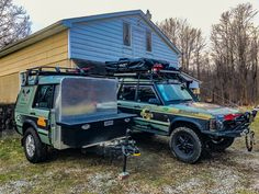 Land Rover Discovery 1, Discovery 2, Off Road Camping, Truck Camping, Landrover Camper, Camp Trailers, Trailer Build, Range Rover Evoque, Heavy Truck