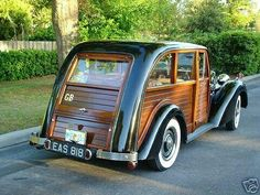 DO YOU LIKE VINTAGE? — 1947 alvis woodie