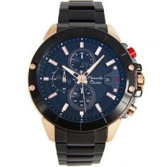 6488MCBBRBA Alexandre Christie Gents Chronograph Watch Male Watches, Quality Watches, Chronograph, Accessories, Ornament