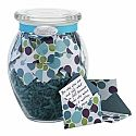 Each KindNotes is a customizable jar with31 personal messages in mini decorative envelopes. They have a variety of quotes around the topics of love, grati