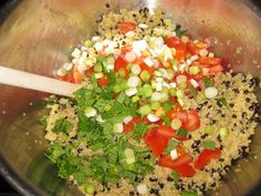 The Full Plate Blog: Sides to have on hand for quick summer dinners: Quinoa Salads