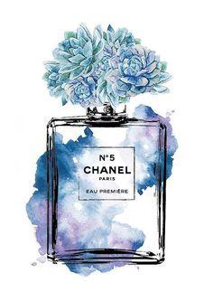 Chanel No. 5 Perfume Bottle