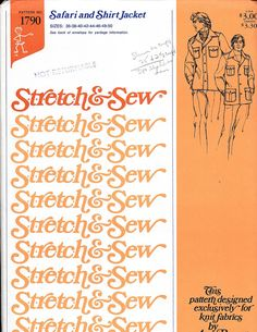 Stretch and Sew Safari and Shirt Jacket  Pattern by OutoftheConex