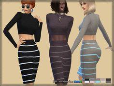 sims4, bukovka, female, dress