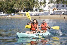 Kayak en el Hotel Tesoro Manzanillo