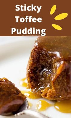 Looking for best dessert ideas? Baked with sweet and hearty dates, drenched in homemade caramel sauce, this English Sticky Toffee Pudding is seriously addictive. Stock up on dates because your pantry already carries the rest of the ingredients. Dessert Ideas, Fun Desserts, Dessert Recipes, Slow Cooker Recipes, Crockpot Recipes, Cooking Recipes, Longevity Diet, English Desserts, Homemade Caramel Sauce