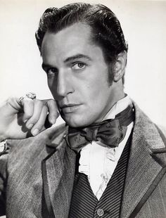 "Vincent Price in ""Dragonwyck"" (1946) He is one of my all time favorite actors!"