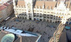 Marienplatz, Munich's main central square. http://www.secretearth.com/destinations/45-munich