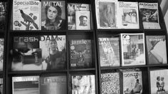 magazine racks always intrigue