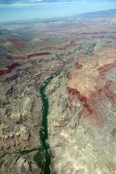 Colorado River from the air Colorado River, Grand Canyon, Spaces, Photo And Video, World, Travel, The World, Viajes, Destinations