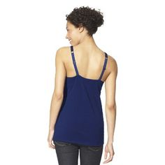 Women's Nursing Cotton Cami Heather Gray L