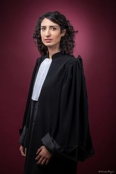 Female Portrait, Woman Portrait, Lawyer Fashion, Lawyer Outfit, Law And Justice, Clermont Ferrand, Portraits, Gowns, Football