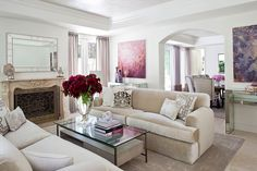 1schuyler-samperton-interior-design Silver and grey, with touches of lavender
