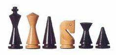 Nice minimalist chess set. The Christmas tree pawn needs redesign.